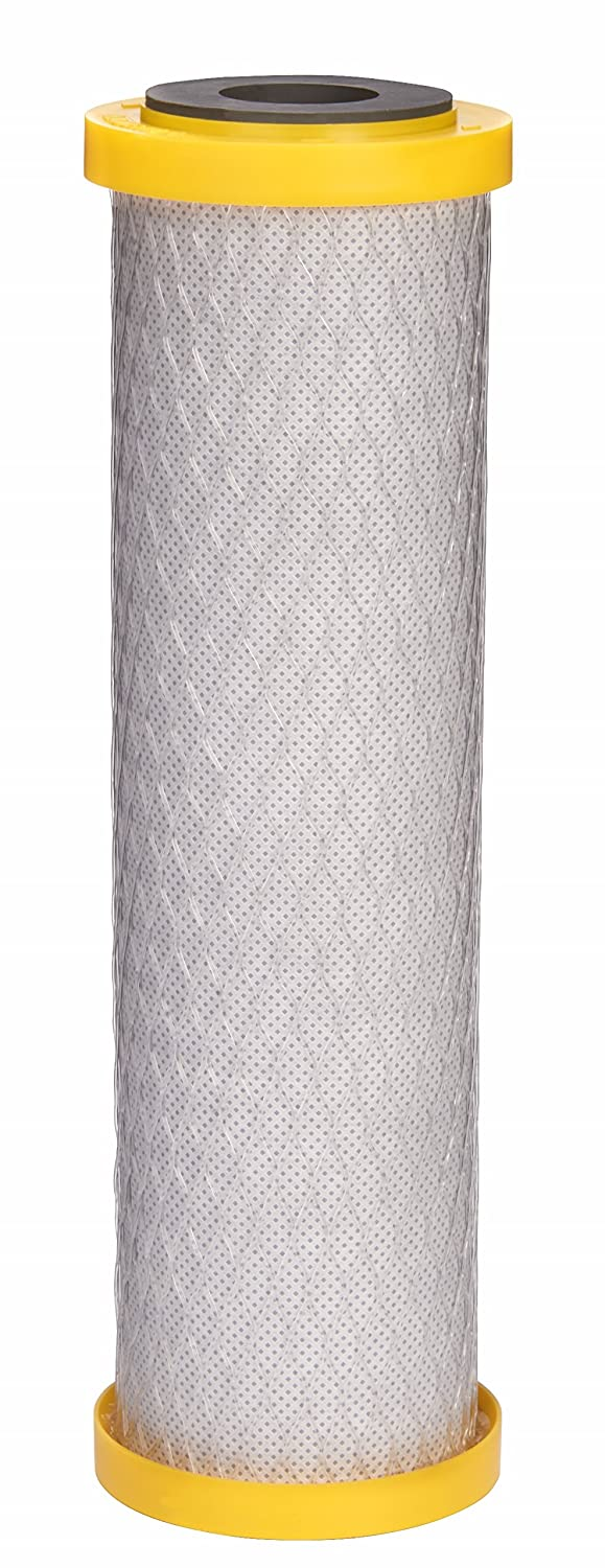 EcoPure EPU2L Replacement Water Filter, White/Yellow