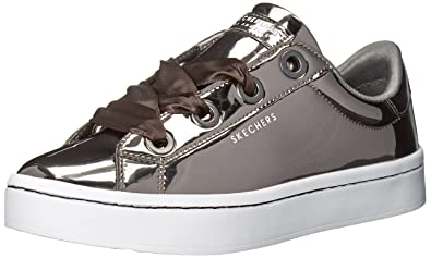 Chaussures Femme Skechers Baskets Lite Hi Liquid Bling AvwwHRqf