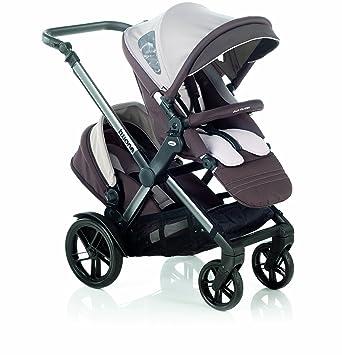 silla de paseo para gemelos o niños de diferentes edades Jané Twone R27 - Crimsom: Amazon.es: Bebé