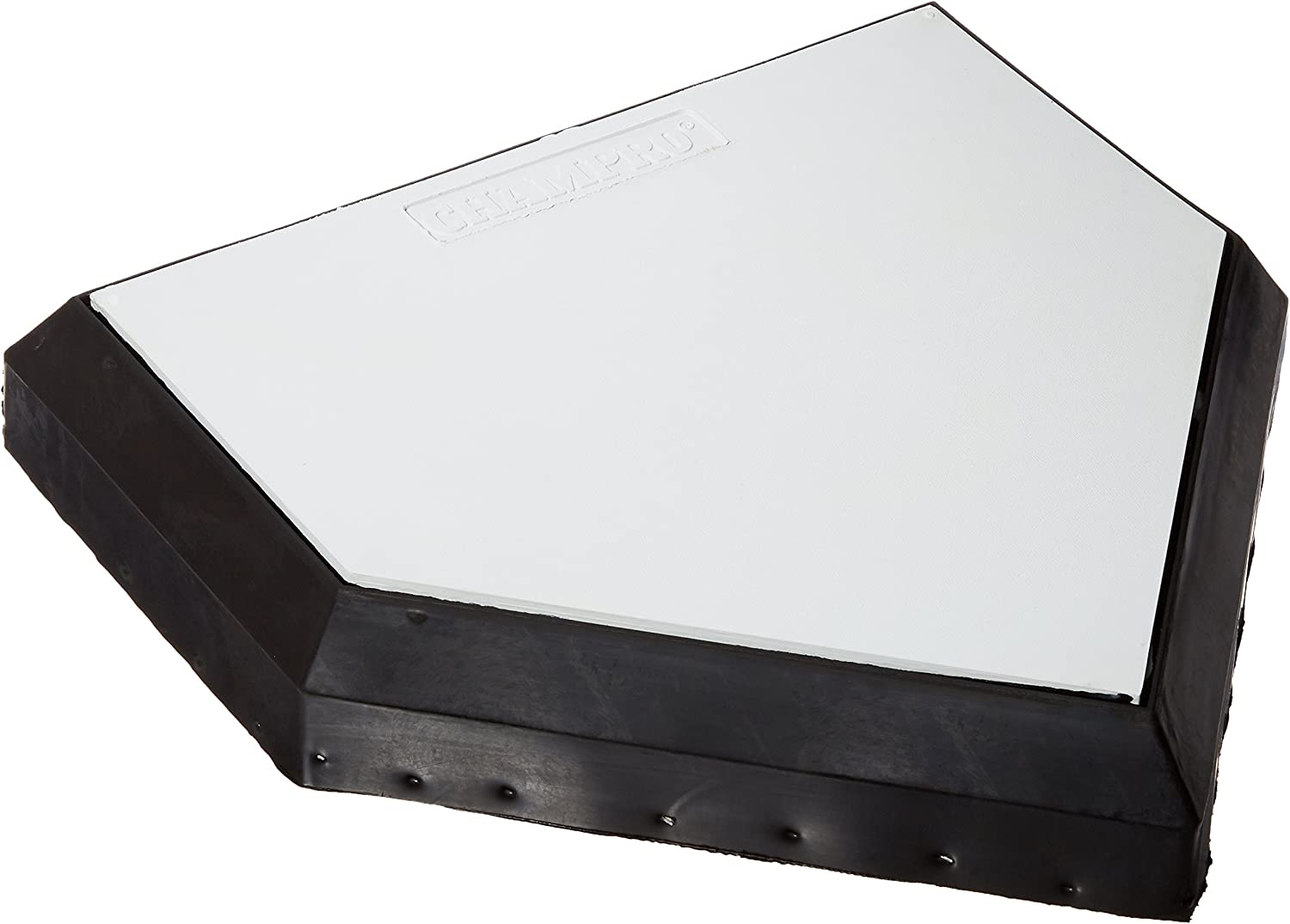 CHAMPRO Professional Wood Bottom Home Plate