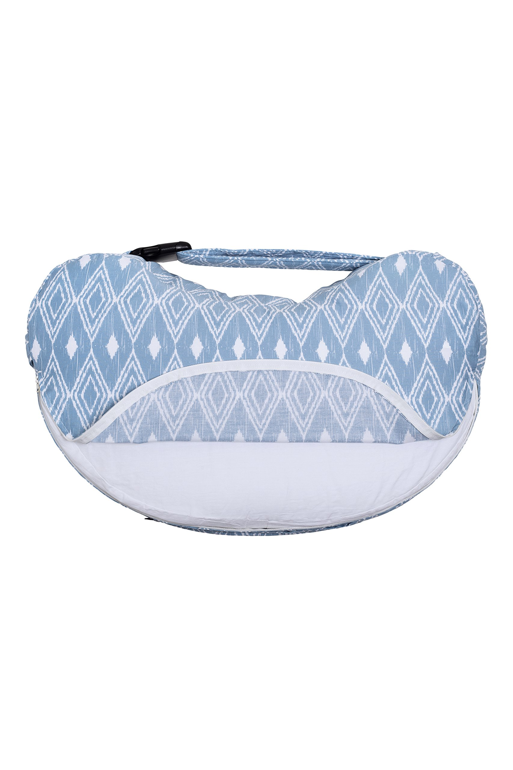 Bebe au Lait Premium Cotton Nursing Pillow Slipcover, Belize by Bebe au Lait