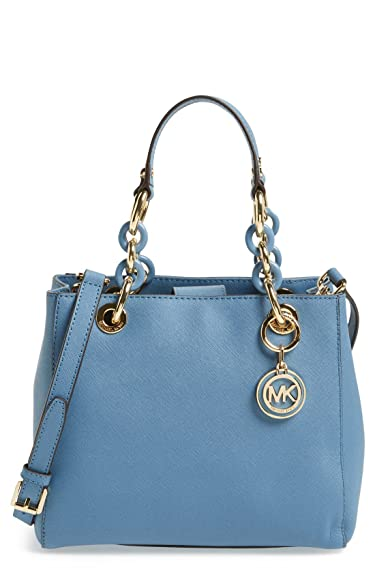 12f99bb299a64a Image Unavailable. Image not available for. Color: MICHAEL Michael Kors  Womens Cynthia Small North South Satchel ...