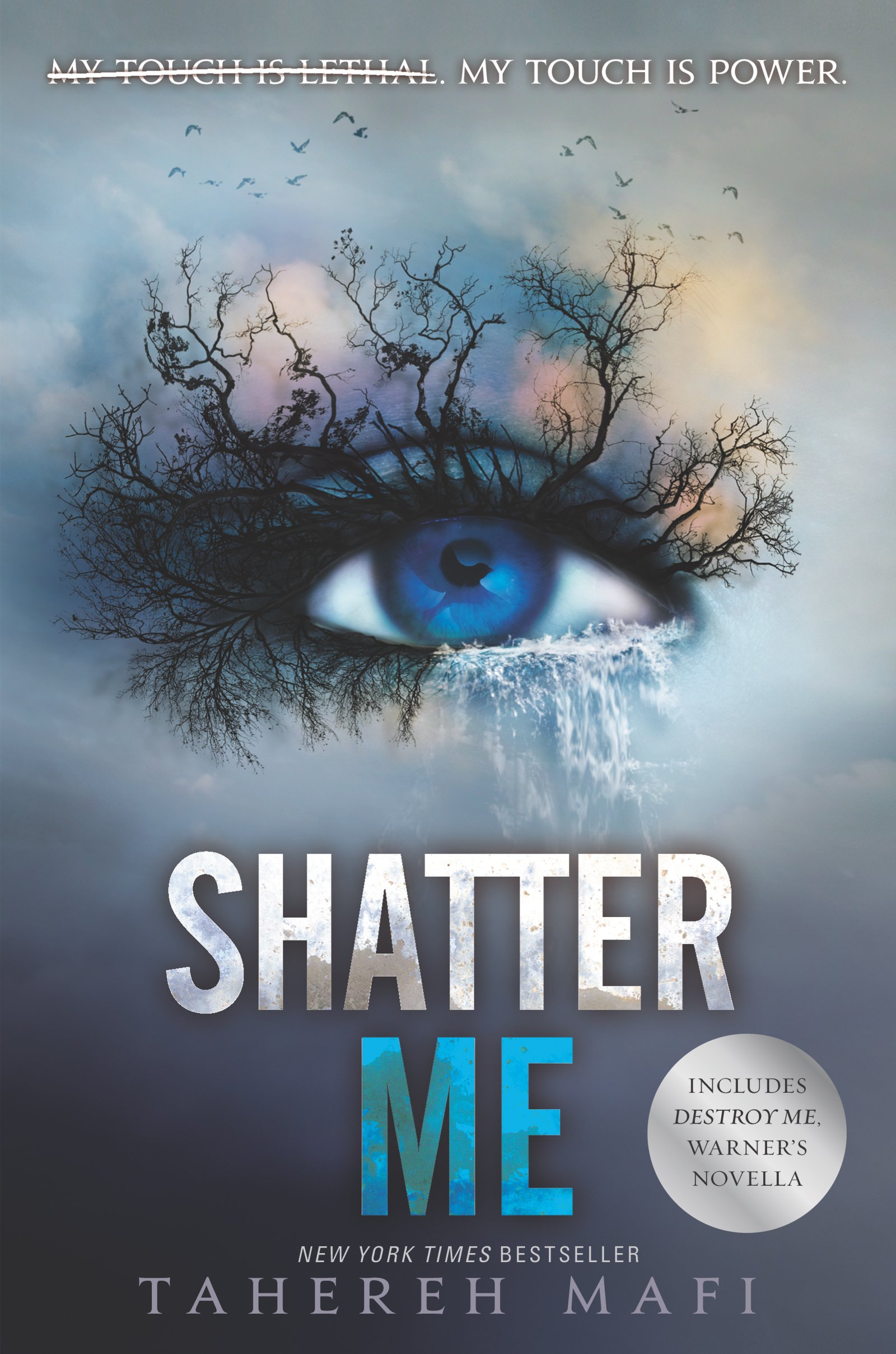 Image result for shatter me cover