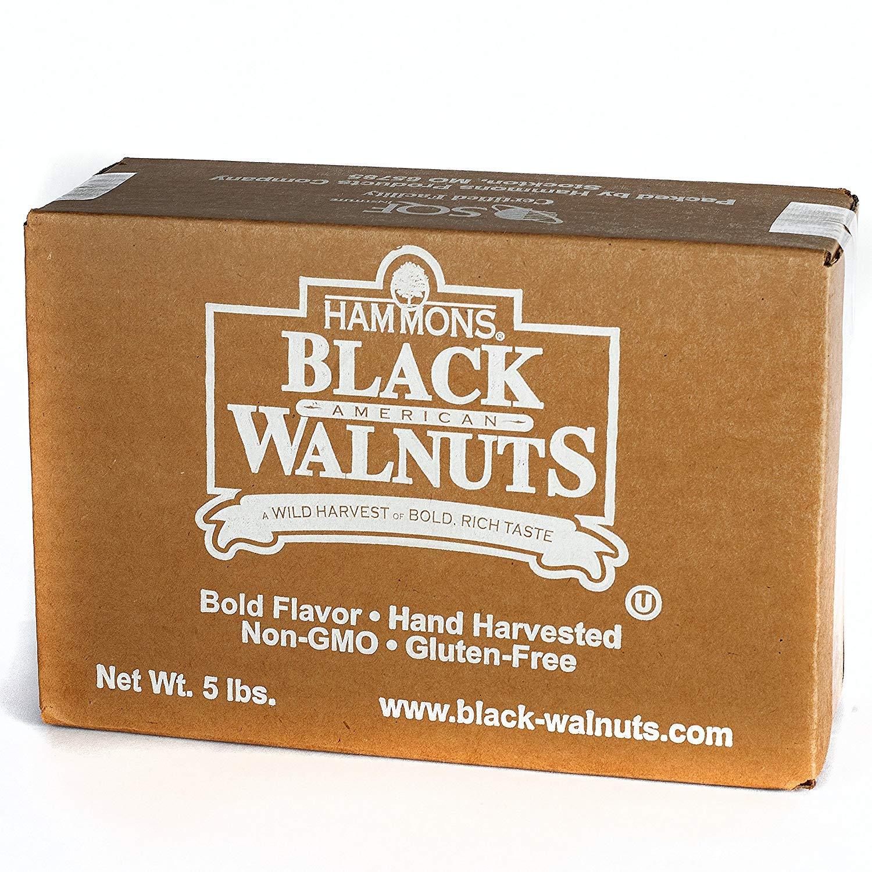 Hammons Black Walnuts - Fancy Large Kernels, 5 lb (3 Pack) by Hammons