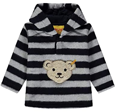 595861bed1 Steiff Jungen Sweatshirt Sweatshirt 1/1 Arm Fleece: Amazon.de ...