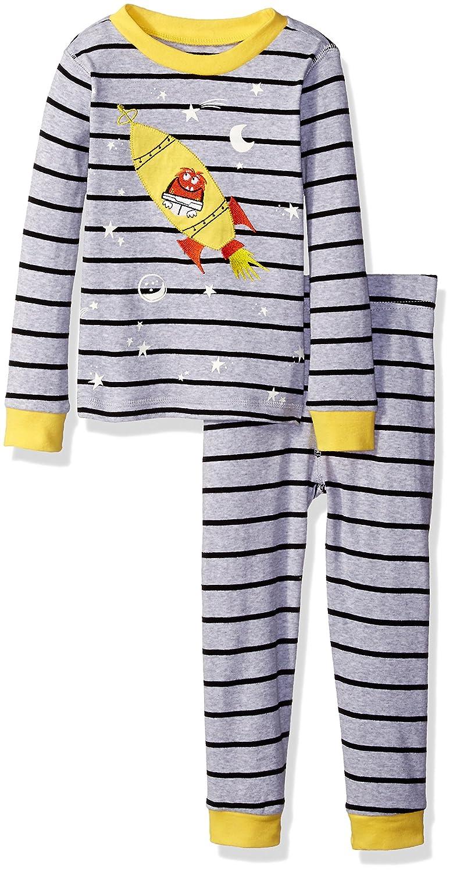 2a7e6c852675 Petit Lem Little Boys  Ship Glow in the Dark Pajama