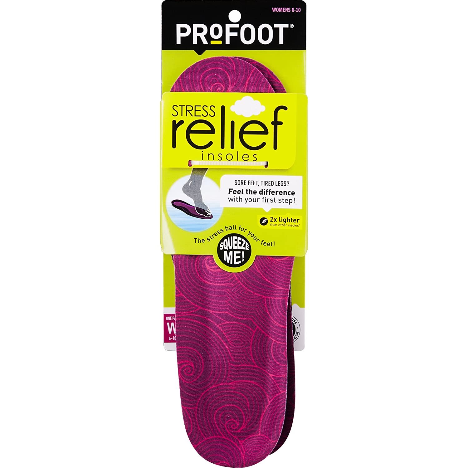deb240d0059b Amazon.com  PROFOOT Stress Relief Insole
