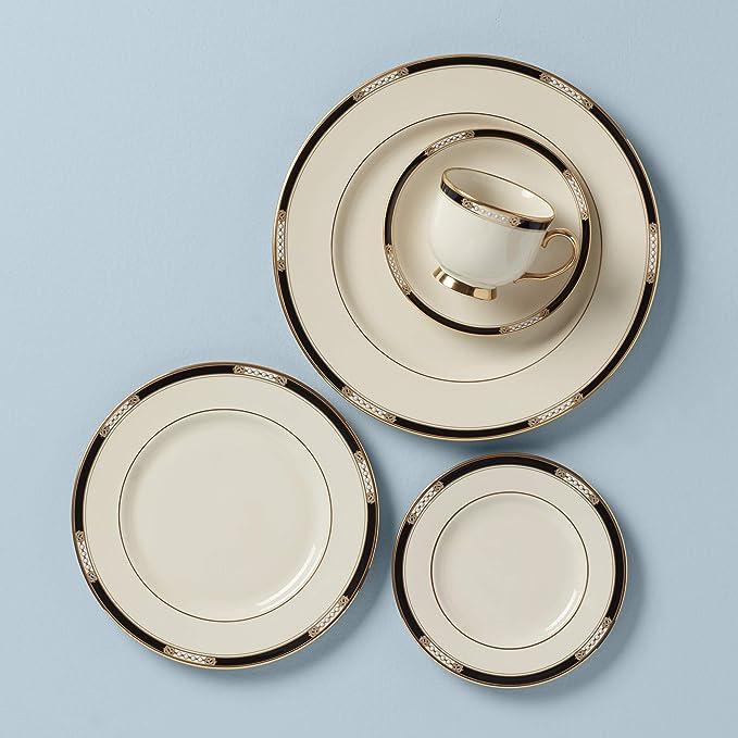 Lenox Hancock Fine China 5 Piece Place Setting Service For 1 Dinnerware Sets Soup Bowls Amazon Com