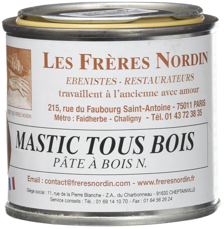 Les Frè res Nordin 416105 - Masilla para madera profesional de color roble oscuro Les frères Nordin