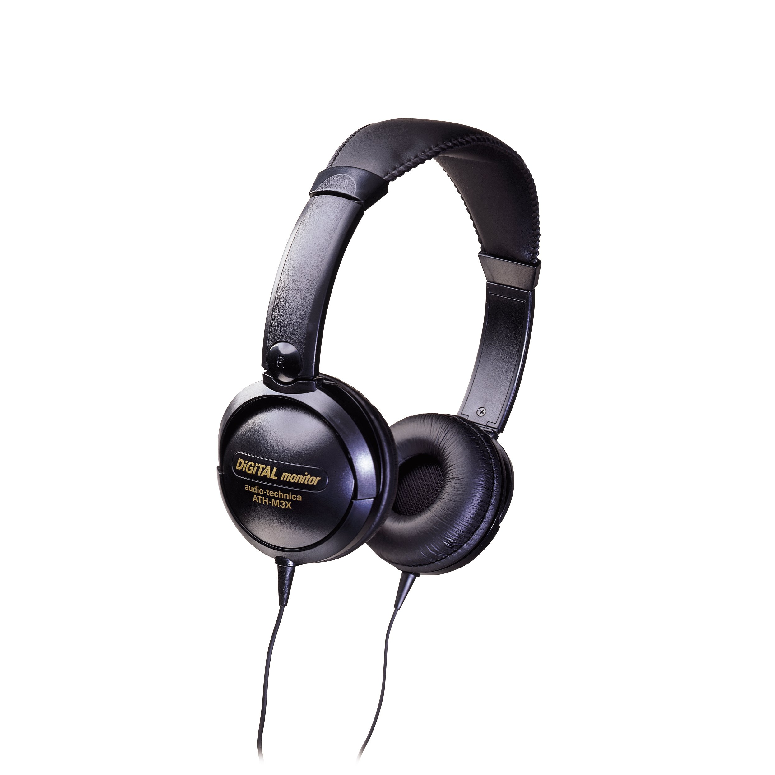 Audio-Technica ATH-M3X Mid-Size Closed-Back Dynamic Stereo Headphones