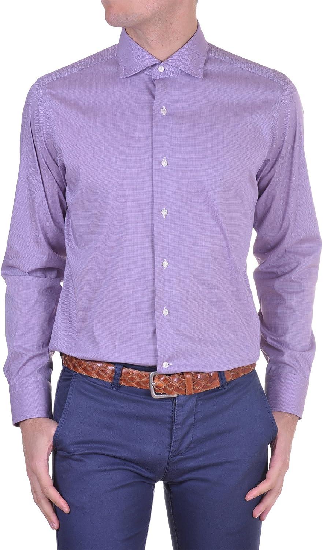 Lui Lancetti - Camisa Hombre Regular lila 38: Amazon.es: Ropa y accesorios