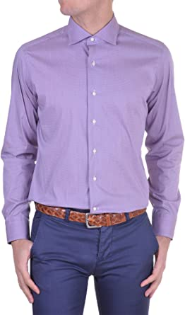 Lui Lancetti - Camisa Hombre Regular lila 38: Amazon.es: Ropa ...