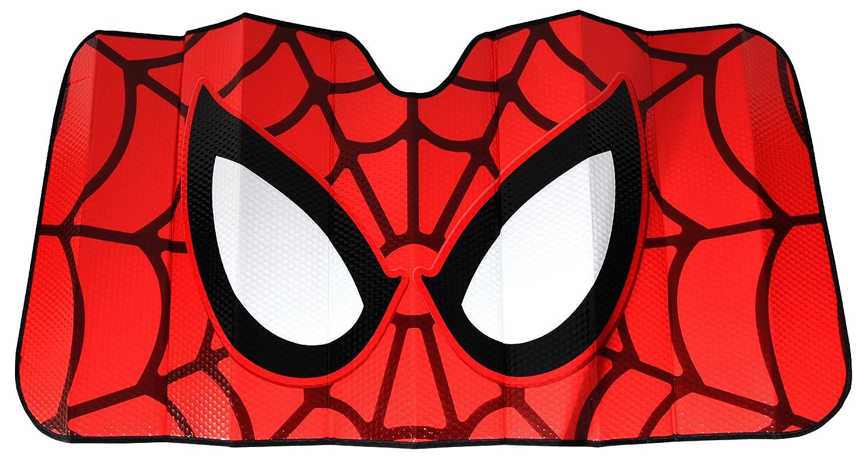 Plasticolor 003707R01 Marvel Spiderman Accordion-Style Windshield Sunshade Plasticolor 003707R01 Marvel /'Spiderman/' Accordion-Style Windshield Sunshade