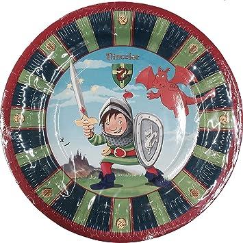 8 platos * Ritter vincelot * Cumpleaños para niños o ...