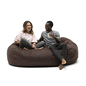 Amazon.com: Big Joe Media Lounger - Puf relleno de espuma ...