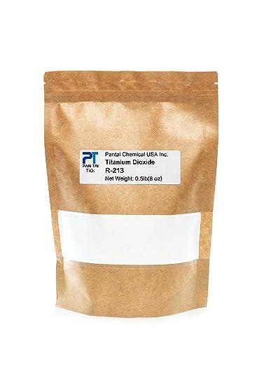 Pure Fine Titanium Dioxide (TiO2) Food-Grade Safe Colorant | Pigment,  Toothpaste, Edible Use | Vegan