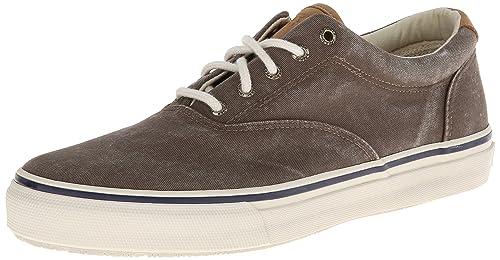 Sperry Top-Sider Striper Cvo - zapatillas de lona hombre, Marrón (Brown): Amazon.es: Zapatos y complementos