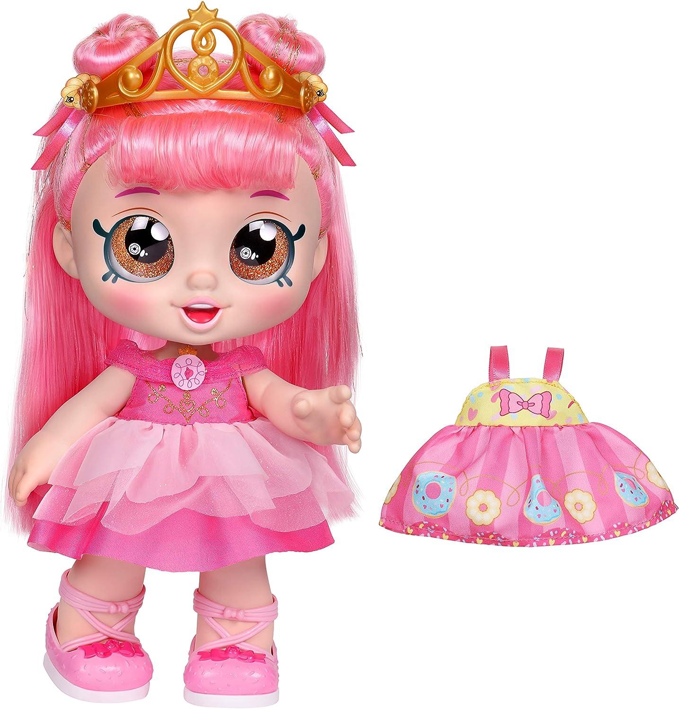 "Kindi Kids Dress Up Friends - 10"" Doll with 2 Outfits - Donatina Princess"