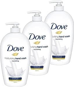 Dove Hand Wash Nourishing, 3 x 500ml
