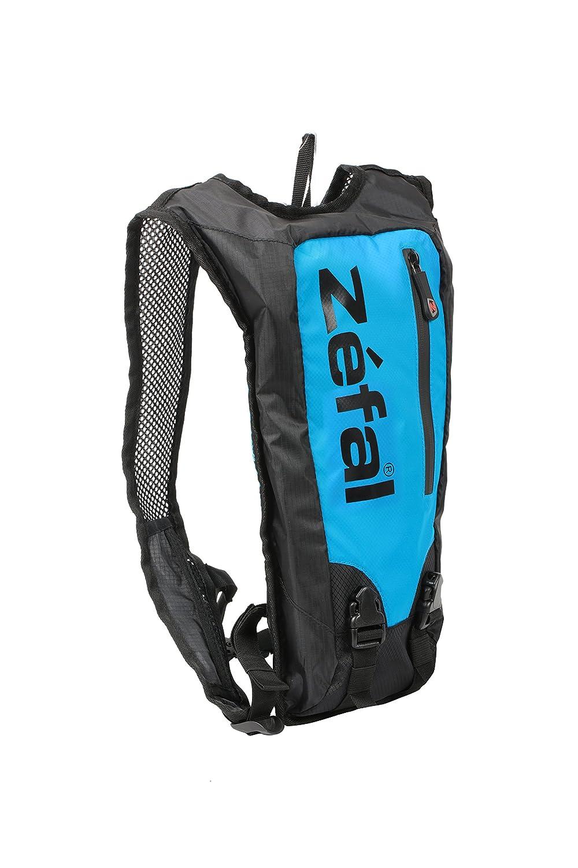 /Bolsa de hidrataci/ón Bicicleta Unisex Color Azul//Negro Talla S Z/éfal 7063/A/