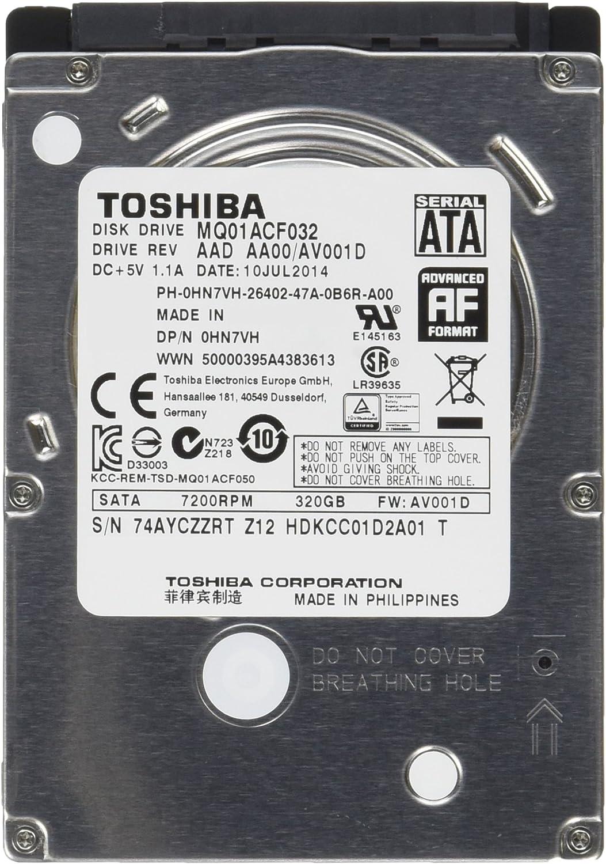 "Toshiba MQ01ACF032 320 GB 2.5"" Internal Hard Drive"