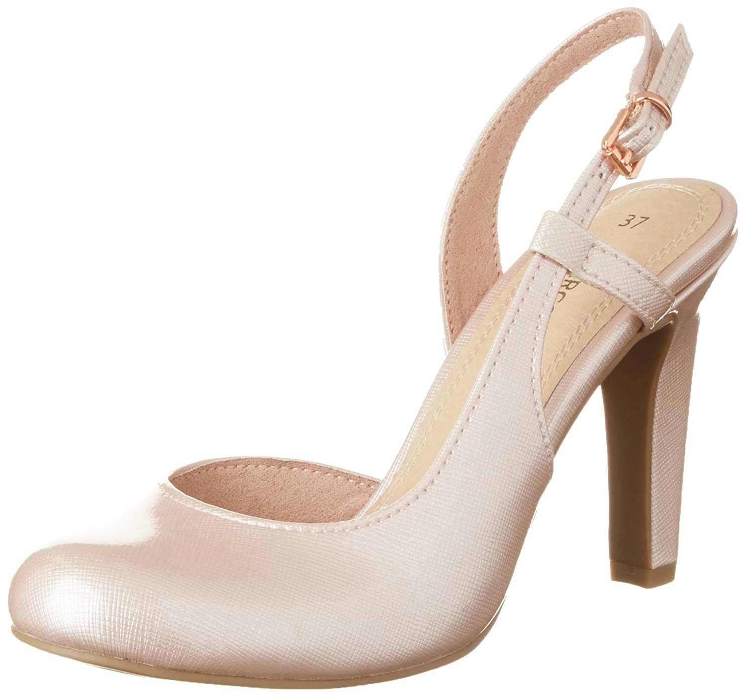 Marco Rose Tozzi 521) 29611, Ouvert Sandales Bout Ouvert Femme Rose (Rose 521) 0dfb5e2 - reprogrammed.space