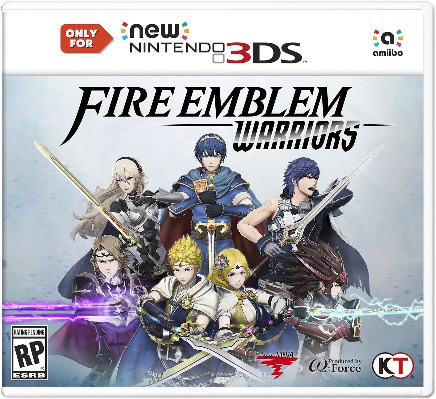 """Résultat de recherche d'images pour """"fire emblem warriors cover"""""""
