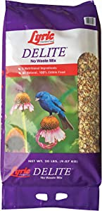 Lyric 2647462 Delite High Protein No Waste Wild Bird Mix, 20 lb