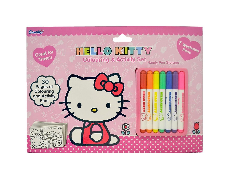 Hallo Kitty Färbung und Aktivität Satz: Amazon.de: Spielzeug