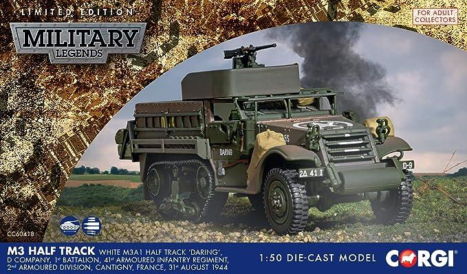Corgi CS90631 M3 A1 Half Track 41st Armoured Infantry D Day 1944