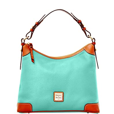 8cb0e9d9a Image Unavailable. Image not available for. Color: Dooney & Bourke Pebble  Grain Hobo