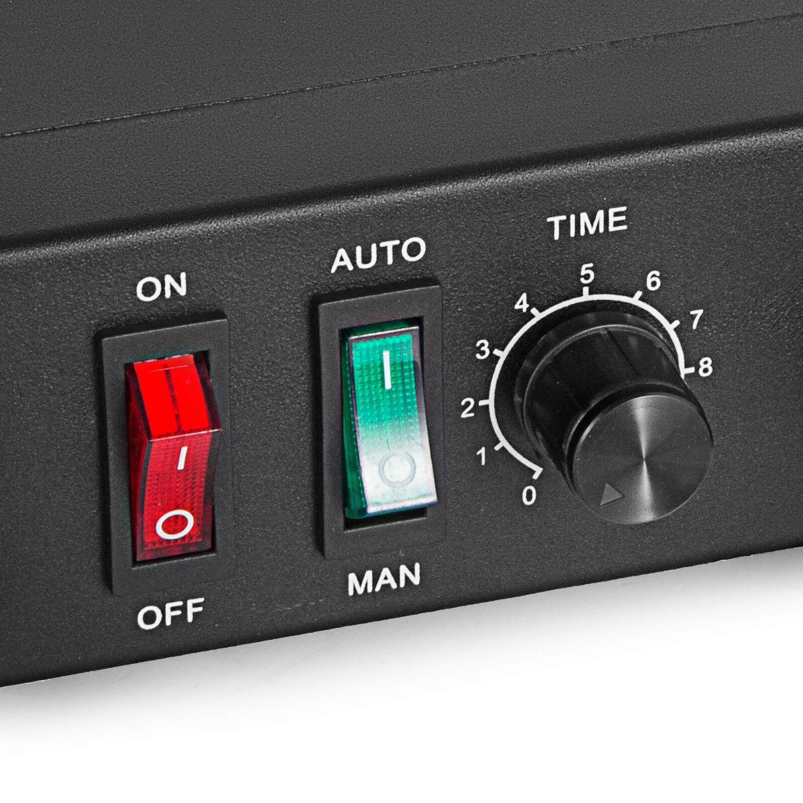 VEVOR Auto Glue Dispenser Dual Controller 24V DC Solder Paste Glue Dropper 982A Digital Display Solder Paste Liquid Controller Dropper Machine by VEVOR (Image #7)