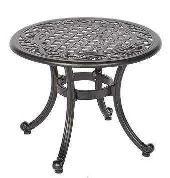 Meadow Decor 2619 45 Kingston Side Table Black