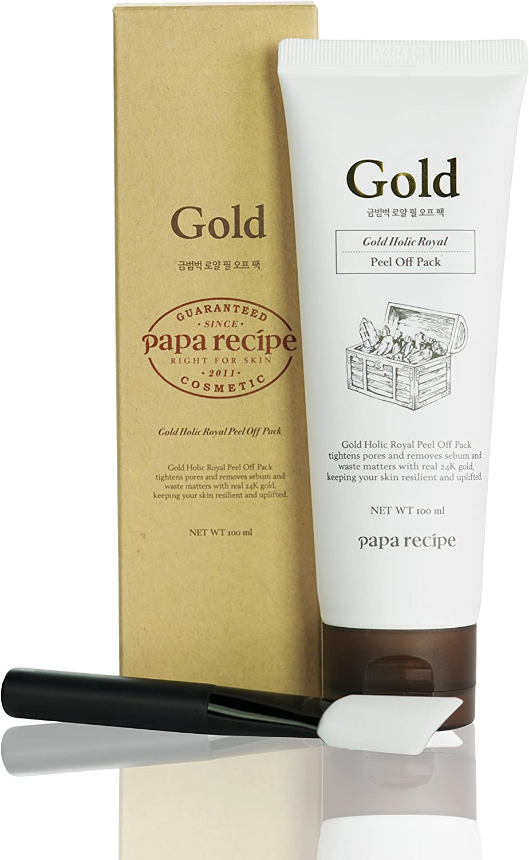 Papa Recipe Gold Holic Royal Peel Off Pack: Amazon.es: Belleza