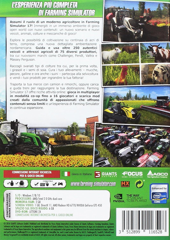 Farming Simulator 17 - PC: windows: Amazon.it: Videogiochi