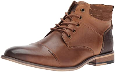 Steve Madden Men's Javier Chukka Boot,Dark Tan,10 ...