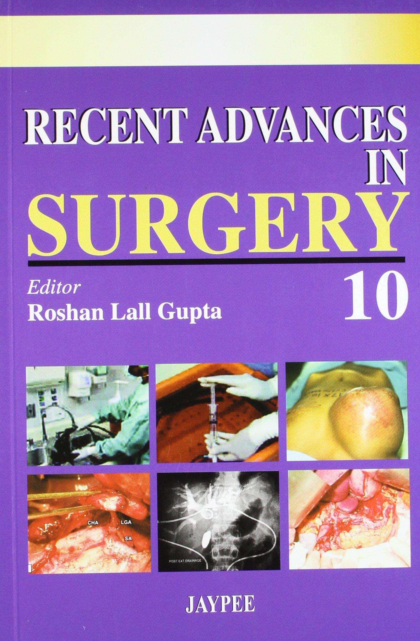 Read Online Recent Advances in Surgery: v. 10 pdf