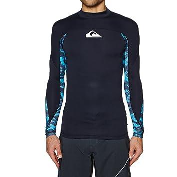Quiksilver 2018 Slash Long Sleeve Rash Vest Black EQYWR03091: Amazon.es: Deportes y aire libre