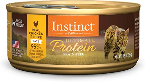 Instinct Ultimate Protein Grain Free Recipe Natural Wet Canned Cat Food