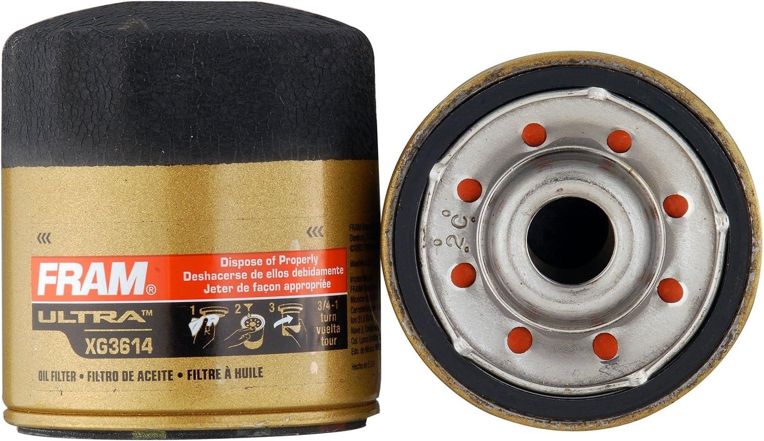 FRAM XG3614 Ultra Synthetic Spin-On Filter