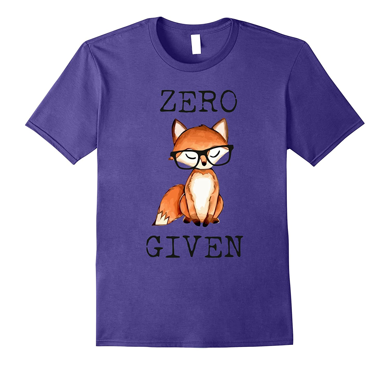 Zero Fox Given With Big Fashion Eyewear T-shirt-TH