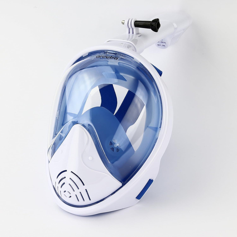 aruuba Schnorchelmaske Schnorchelset Tauchmaske Taucherbrille Tauchen GoPro