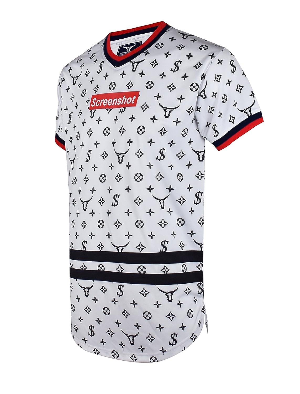 03d10106e Screenshotbrand Mens Hipster Hip-Hop Premiun Tees - Stylish Longline Latest  Fashion Print T-Shirts | Amazon.com