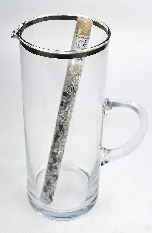 Energetisierung von Wasser Granat Edelsteinwasser Wasserstab Edelsteinstab