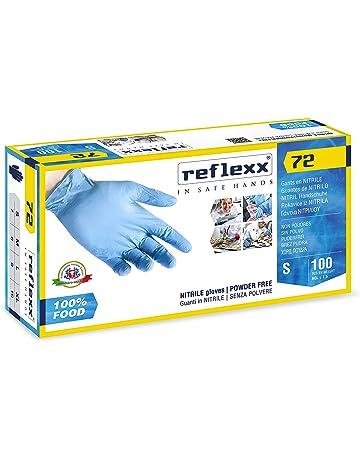 Reflexx R72/M Guantes, 100 unidades, Azul