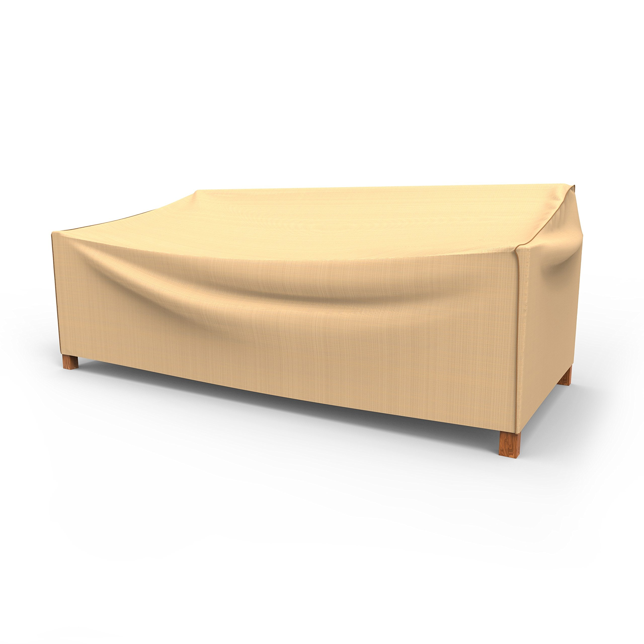 Rust-Oleum NeverWet Outdoor Patio Sofa Cover, Extra Extra Large (Tan)