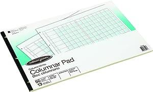 Wilson Jones G7213A Accounting Pad, 13 Eight-Unit Columns, 11 x 16 3/8, 50-Sheet Pad