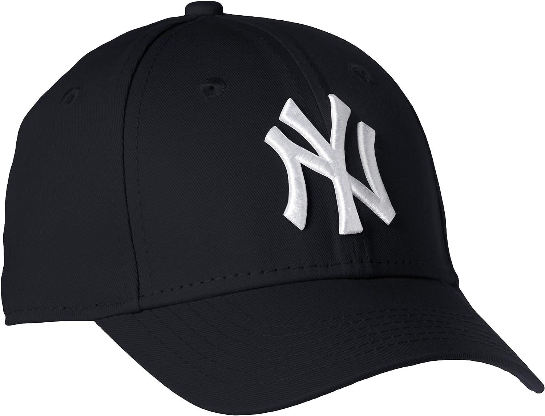 New Era Boys Kids MLB Basic NY Yankees 9Forty Adjustable Cap