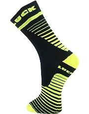 LUCK Calcetines tecnicos de Ciclismo, diseñados para la Practica de Cualquier Deporte.Calidad Garantizada
