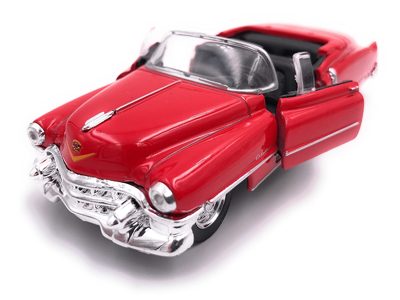 H-Customs Welly Cadillac Eldorado modè le de Licence de Voiture 1:34 Couleur alé atoire hcmcadillacblister